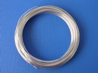 12M Aluminium craft wire 1.0mm Silver